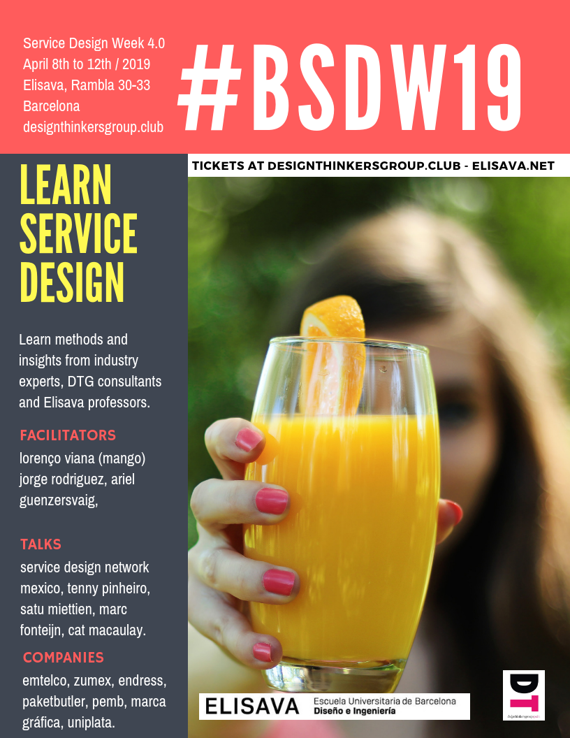 Highlights from Service Design Week 4.0 #BSDW19